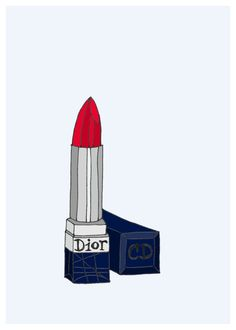 Dior Lipstick.