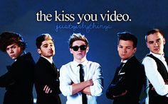The Little Things Video made me think that our boys have grown up.  I then saw the Kiss You video and I'm like LOL NO.  <3