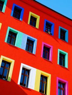 Prime technicolor real estate by snappy chappy, via Flickr