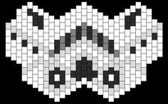 Kandi Patterns for Kandi Cuffs - Characters Pony Bead Patterns Kandi Mask Patterns, Pony Bead Patterns, Peyote Stitch Patterns, Beading Patterns Free, Perler Patterns, Kandi Cuff, Kandi Bracelets, Friendship Bracelets, Perler Bead Art