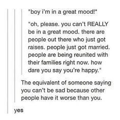and people who say that are ignorant. mental illness knows no boundaries. it doesn't care where the hell you are in life. it doesn't matter. it's not about having stuff either...