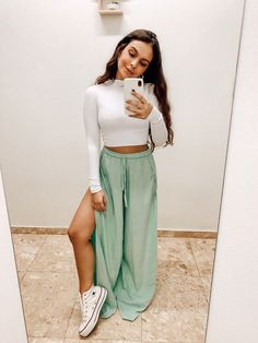 Skirt Outfits, Fall Outfits, Casual Outfits, Cute Outfits, Star Fashion, Look Fashion, Fashion Outfits, Womens Fashion, Looks Style