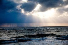 Sun shines through the dark clouds /Sun Rise /Sun /Sun Shine/ Sun Set/ Light of glory by Sayan Devaan Leanage, via Flickr