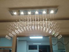 144.18$  Buy now - http://aliexc.worldwells.pw/go.php?t=32724433062 - Z Modern GU10 LED Light Arch Crystal Chandelier Lighting For High-rise Stairway Fashion Creative Luxury Lamps Home lighting  144.18$