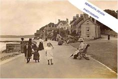 SIDMOUTH-AT THE ESPANADE/PEAK HILL ROAD (EDWARDIAN ERA) ANIMATED  DEVON SEA SIDE Sea Side, Edwardian Era, Devon, Vintage Photos, Photographs, Animation, World, Ebay, Photos