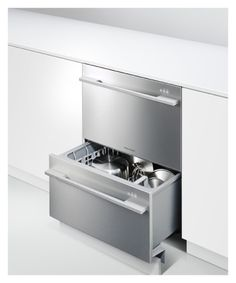 Fancy - Dishwasher- : Double DishDrawer™ DD24DDFX7 by Fisher & Paykel Appliances United States of America