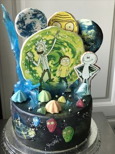 Cake Rick and Morty