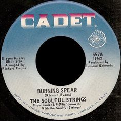 In 1966 The Soulful Strings formed in Chicago. A soul-jazz instrumental studio band led by Richard Evans, a staff producer and musical arranger with the Chess Records subsidiary Cadet Records.