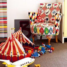Une chambre d'enfant tout en gaieté