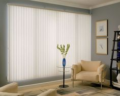 Vertical blinds #windowtreatments
