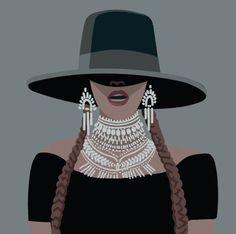 Beyonce Style, Beyonce Body, Beyonce Beyonce, Beyonce Coachella, Beyonce Quotes, Illustration Mode, Illustrations, Beyonce Drawing, Fashion Illustrations
