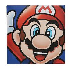 10x10 inch Mario Luigi Brother Super Mario Bros Arcade Game Wall Sticker Art Design Decal for Girls Boys Kids Room Bedroom Nursery Kindergarten House Fun Home Decor Wall Art Vinyl Decoration Size