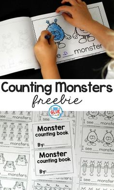 Monster Counting Emergent Reader is the perfect, hands-on addition to your math or literacy centers anytime of the year. This activity is perfect for preschool, pre-k, and kindergarten students.