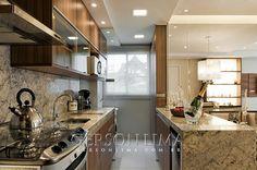 Cozinha empreendimento Ideale Residencial / Ideale Residencial Kitchen