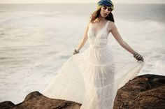 whimsical wedding gown | grace-loves-lace-bridal-gown-wedding-dress-boho-whimsical-romantic ...