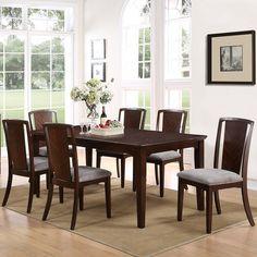Alpine Furniture Palisades 7 Piece Dining Table Set - ALPE461