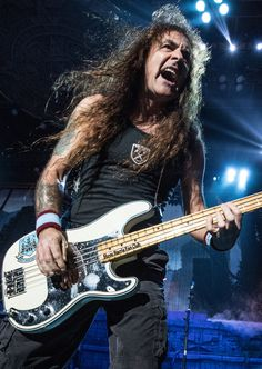 Steve Harris-Iron Maiden...........