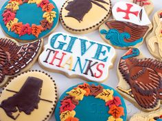Thanksgiving Cookies by Mike of SemiSweet Designs