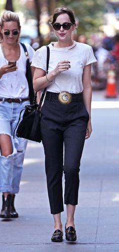 Dakota Johnson spotted in NY - 28 August 2015