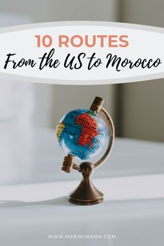 Find flight routes from the US to Morocco with this guide. Including layover stops and practical information for booking flights. Morocco Travel, Africa Travel, Canada Travel, Travel Usa, Visit Usa, International Flights, New Zealand Travel, South America Travel