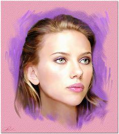 Scarlett Johansson by shahin