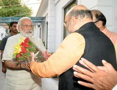 Competitive Times -  Historical moment for BJP: PM Narendra Modi with Amit Shah