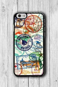 STAMP Passport Collection iPhone 6 / 6S Cases Hit iPhone 5S Case Sister Christmas Gift iPhone 4/4S iPhone 5/5C Electronics Cases Personalize