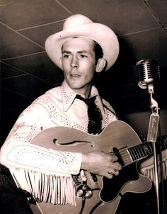 Hank Williams, Sr. (17/9/1923 – 1/1/1953), born Hiram King Williams, was an American singer-songwriter and musician. Regarded as one of the most significant country music artists of the 20th century, Williams recorded 35 singles (five released posthumously) that would place in the Top 10 of the Billboard Country & Western charts, including 11 that ranked number one.