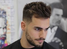 Men Hair Style Unique Blended Fade Haircut For Men  F  Pinterest  Fade Haircut