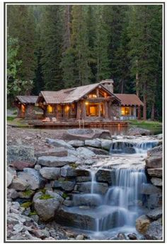 I like the house but I like the location better. Would love to have a house this close to a running river or creek.
