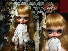 tenko * Custom Blythe * Bloody M  Buy her here:   #blythe #blythedolls #kawaii #cute #rinkya #japan #collectibles #neoblythe #customblythe
