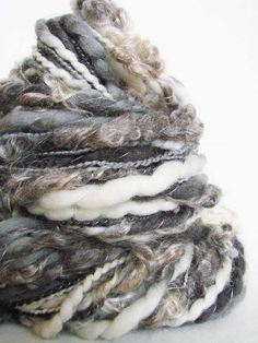 Hand Spun Art Yarn - Sadhvi | by Wyld Earth