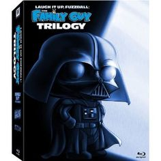 Laugh It Up, Fuzzball: The Family Guy Trilogy (It's a Trap! / Blue Harvest / Something, Something, Something, Darkside) [Blu-ray] --   It's a Trap!  Clear some space for the third chapter of the funniest freakin' trilogy in the galaxy! Once again, the Family Guy alliance travels far, far beyond the beyond the boundaries of good taste to bring you an outrageous sci-fi spoof filled with hilarious humor, adequate animation and a happy ending (giggity). So get ready to experience the lighter…