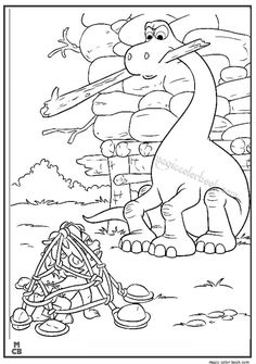28 Best The Good Dinosaur Coloring Pages Images On Pinterest