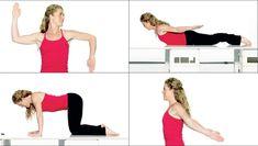 Slip af med tantepuklen: 4 øvelser til at træne den væk Yoga Fitness, Health Fitness, Live Fit, Good Posture, Do Exercise, Health And Beauty Tips, Upper Body, Back Pain, How To Stay Healthy