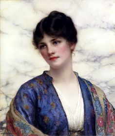 Valeria William Clarke Wontner Oil 1915