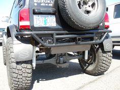 """Double Tough"" Sidekick/Tracker Rear Tube Bumper"