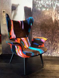 MODERN CHAIR DESIGN |  colorful chair by Moroso diesel fo a cool living room  |www.bocadolobo.com/ #modernchairs #luxuryfurniture #chairsideas