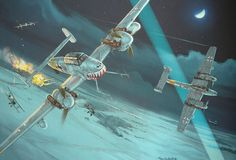 Me110 Night Fighters