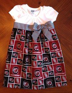 USC Gamecocks Dress by BethFitz9 on Etsy, $35.00