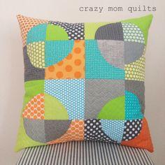 quarter circles - crazy mom quilts