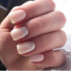 nails for prom silver \ nails for prom ` nails for prom silver ` nails for prom white ` nails for prom black ` nails for prom pink ` nails for prom red dress ` nails for prom neutral ` nails for prom gold Bride Nails, Prom Nails, Wedding Nails, Chic Nails, Fun Nails, Dipped Nails, Nagel Gel, Powder Nails, Perfect Nails