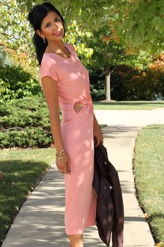 cut out dress outfit