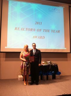 """Nominated """"Realtor of the Year"""""""
