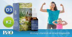 Gal K2 + D3-vitamin forte cseppek