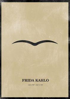 """L'originalité des autoportraits de Frida Kahlo, à l'encontre de ce que font Rembrandt, Van Gogh ou Picasso, repose sur le fait qu'elle ne scrute pas son visage en ne lui imposant nullement une expérience formelle:"""" elle se montre, pose un personnage qui fait sens, qui souffre, qui brave, qui fait front, et plus rarement, se cache."""" Serge Fauchereau. cité par G De Cortanze."""