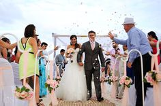 Destination Wedding at Blue Bay Grand Esmeralda – Ale and Rohan Bridesmaid Dresses, Wedding Dresses, Riviera Maya, Hotels And Resorts, Caribbean, Ale, Destination Wedding, Dream Wedding, Mexico