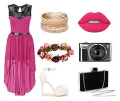 """""""Look's 2016"""" by beatifullife19 on Polyvore featuring мода, Nly Shoes, Forever 21, Red Camel, Lime Crime, bytretyakovaelena и looks_prom"""