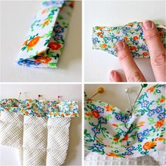 the proper way to sew bias tape... and the short-cut cheating way!