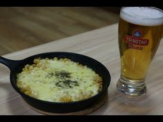 Korean Cheese Corn-YouTube Korean Side Dishes, Corn Cheese, Mashed Potatoes, Meals, Ethnic Recipes, Youtube, Food, Whipped Potatoes, Meal